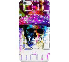 digital mushroom iPhone Case/Skin