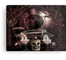 A HALLOWEEN TOAST Metal Print