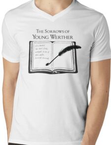 The Sorrows of Young Werther by Goethe Mens V-Neck T-Shirt