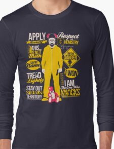 The One Who Knocks Long Sleeve T-Shirt