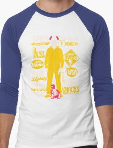 The One Who Knocks Men's Baseball ¾ T-Shirt