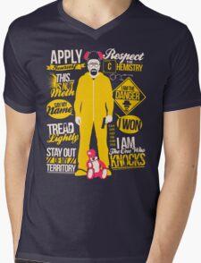 The One Who Knocks Mens V-Neck T-Shirt