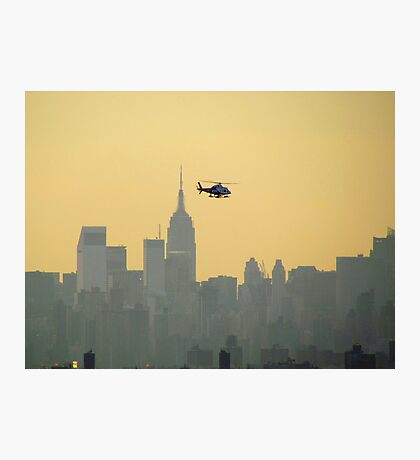 New York City Copter Photographic Print