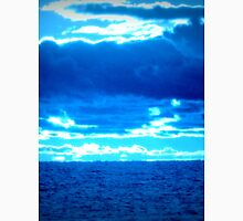 blue sky and water on lake michigan. Sheboygan, WI Unisex T-Shirt