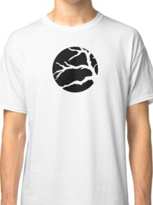 Abstact Tree Vector in black Classic T-Shirt