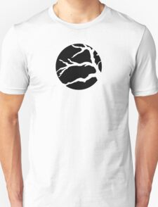 Abstact Tree Vector in black T-Shirt