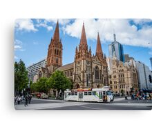 Downtown Melbourne Canvas Print