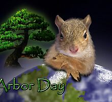 Arbor Day Squirrel by jkartlife