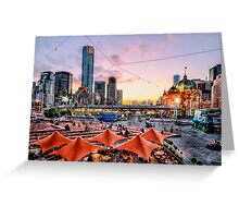 Fed Square, Melbourne Greeting Card