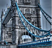 Tower Bridge Towering and Toned Photographic Print