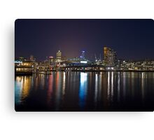 Harbour Lights Canvas Print