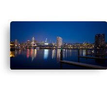 Harbour Lights III Canvas Print