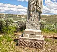 Bodie Ghost Town Boot Hill by Gregory Dyer