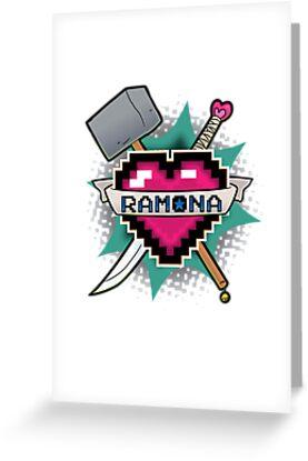 Heart Crest - Ramona by mutantninja