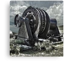 Bodie Ghost Town, Mining Equipment Canvas Print