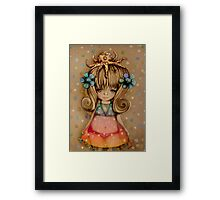 The Girl and the Octopus Framed Print