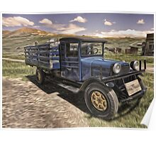 Bodie Ghost Town, Old Truck Poster