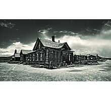 Bodie Ghost Town Photographic Print