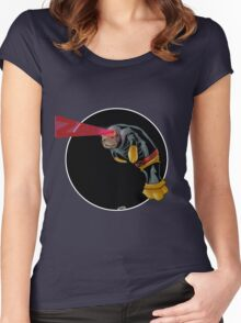 Cyclops Manatee SALE! Women's Fitted Scoop T-Shirt