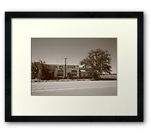 Route 66 - San Jon, New Mexico Framed Print