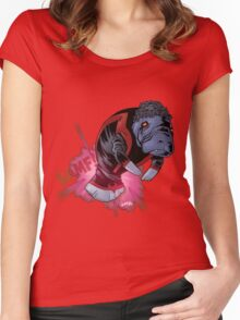 Nightcrawler Manatee SALE! Women's Fitted Scoop T-Shirt