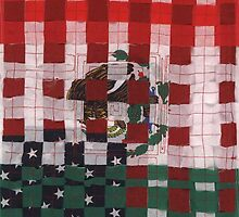 The Mexican American Unity Flag by uniquesparrow
