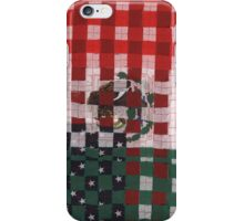 The Mexican American Unity Flag iPhone Case/Skin