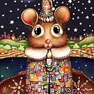 Little Bright Eyes the Radiant Christmas Mouse by © Karin (Cassidy) Taylor