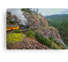 Mountain Top Train Ride Canvas Print