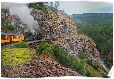 Mountain Top Train Ride by JohnDSmith