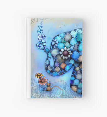 Little Blue the Patchwork Elephant Hardcover Journal