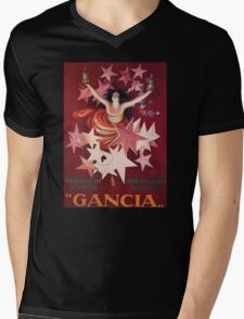 Gancia Mens V-Neck T-Shirt
