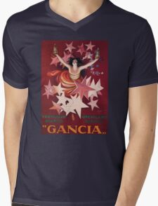 Gancia Mens V-Neck T-Shirt