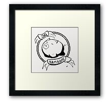 So HAMsome - Black Framed Print