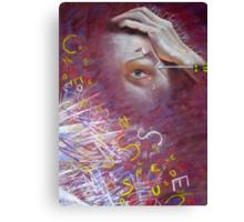 'My Migraine' - Self-Portrait  Canvas Print
