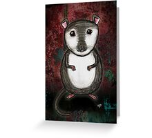 Gemma the Gerbil Greeting Card