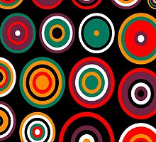 pop art circles 1 by rob shields