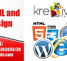 Creative HTML & XHTML Design by kre8iveseo