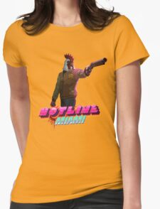 Richard (Hotline Miami) Womens Fitted T-Shirt