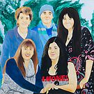 Family Portrait painted by my brother. by TubularBelle