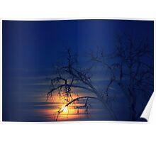 Penumbral Lunar Rising Poster