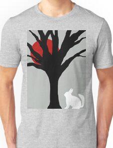 Red Moon Rabby Unisex T-Shirt