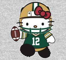 Hello Kitty Loves Aaron Rodgers & The Green Bay Packers! by endlessimages