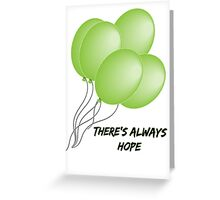 TWD Balloons Greeting Card