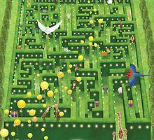 Birthday Garden Party by TangsArtDesign