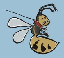 A wasp on a leash Kids Tee
