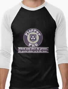 PH D Flopper Men's Baseball ¾ T-Shirt