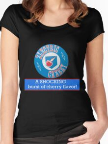 Electric Cherry soda Women's Fitted Scoop T-Shirt