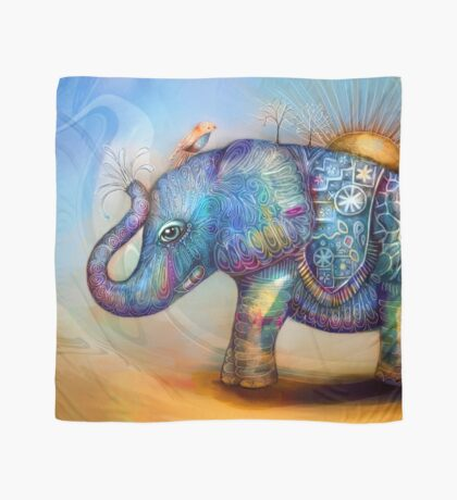 magic rainbow elephant Scarf