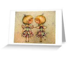 fairy dance Greeting Card